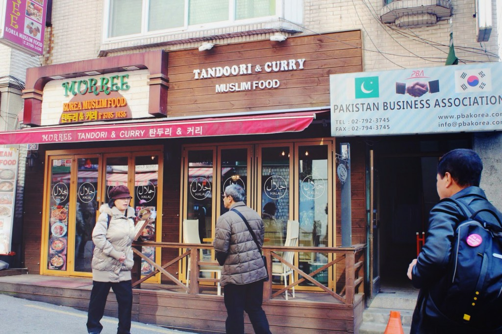 murree halal korean food itaewon