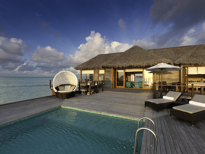 HHWT Maldives Resorts Conrad Rangali Villa with Private Pool