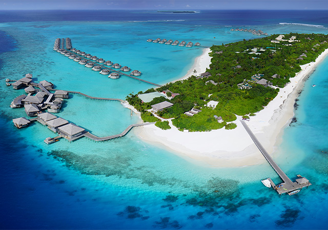 HHWT Maldives Resorts Six Senses Laamu aerial