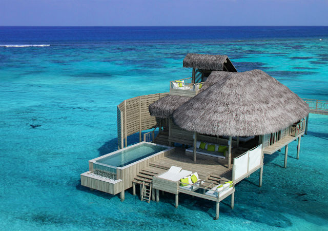 HHWT Maldives Resorts Six Senses Laamu semi-private pool villa