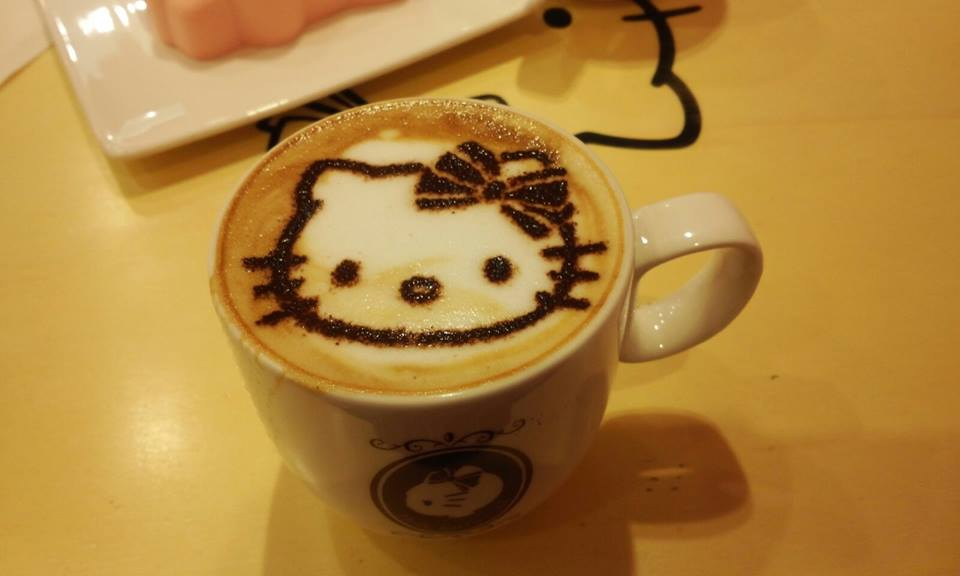 Hello Kitty Cafe Myeongdong Coffee