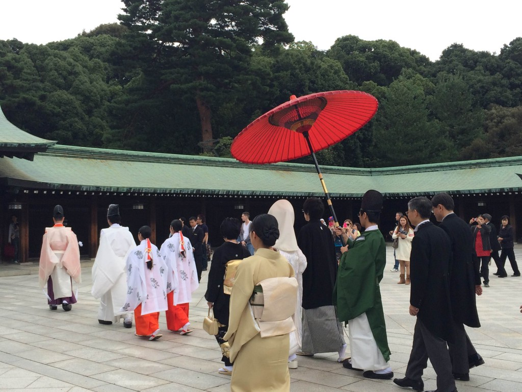 Meiji Shrine Wedding Procession (1)