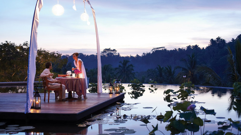 The Rooftop Lotus Pond at the Four Season's is absolutely breath-taking