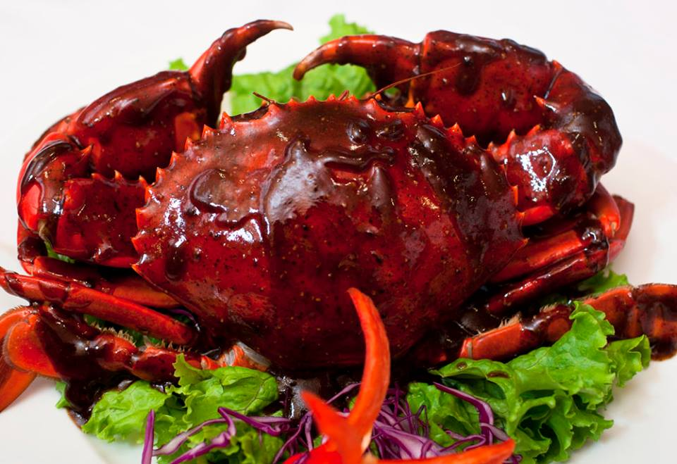 15 Black pepper crab at Red House