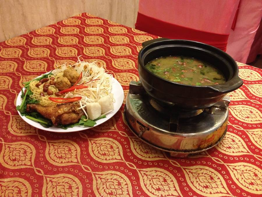 1 - Begin your food journey with a bowl of hearty soup from Kampung Pandan
