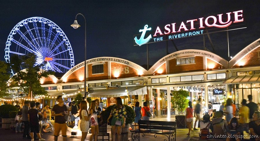 21 - Modern street markets are always fun Asiatique Riverfront