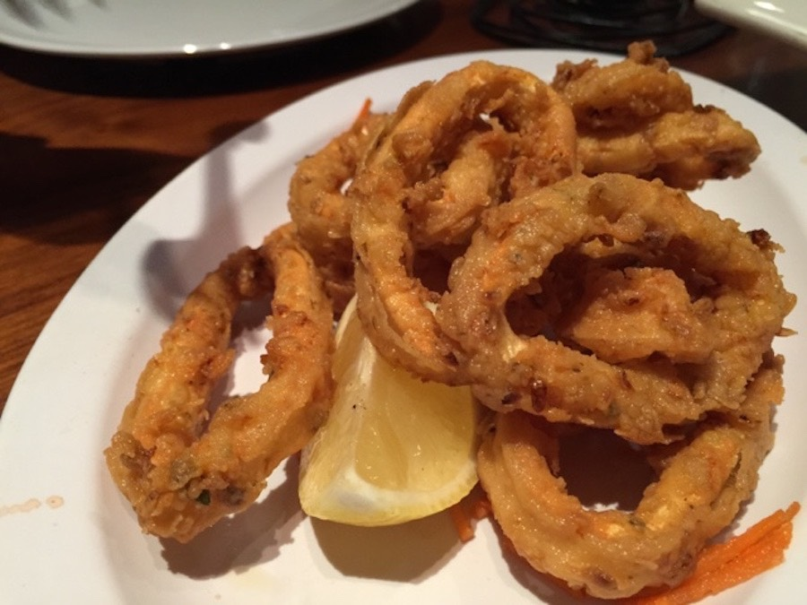 4 - Cairo Steakhouse fried calamari