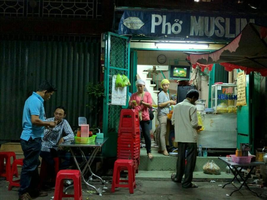 7 - Street food gem found within the unassuming exterior of Pho Muslim