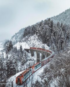 All aboard the Glacier Express! Enjoy the most breathtaking viewshellip