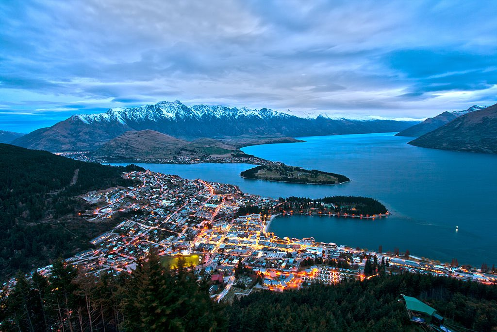 The view of Queenstown from Bob's Peak. Breathtaking!