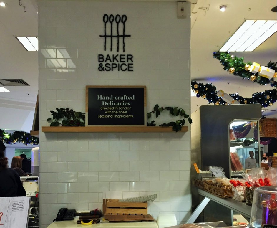 baker and spice selfridges food hall london halal food muslim friendly