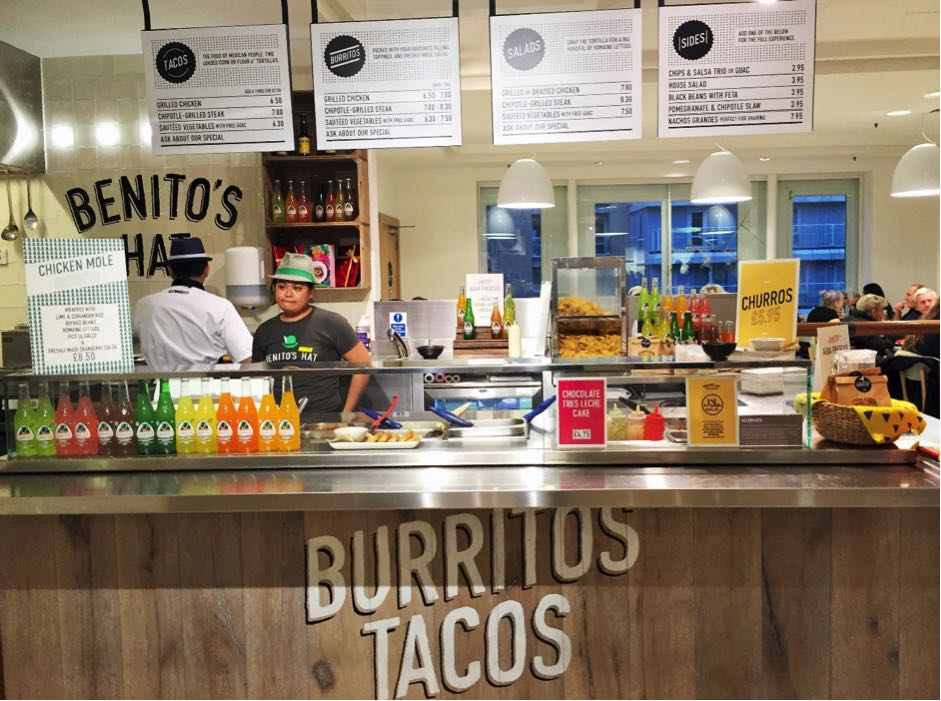 benitos hat halal food london selfridges kitchen food hall muslim friendly