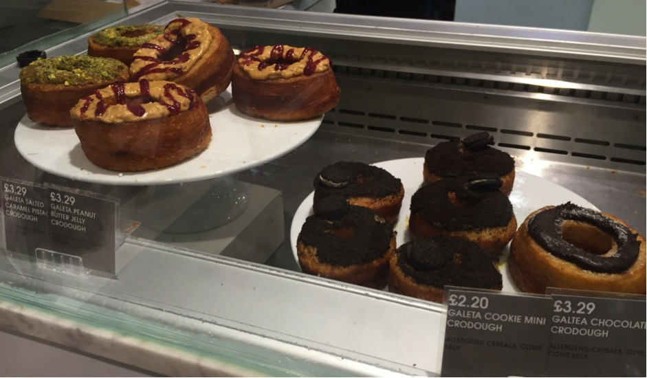 crodough selfridges food hall london halal food muslim friendly