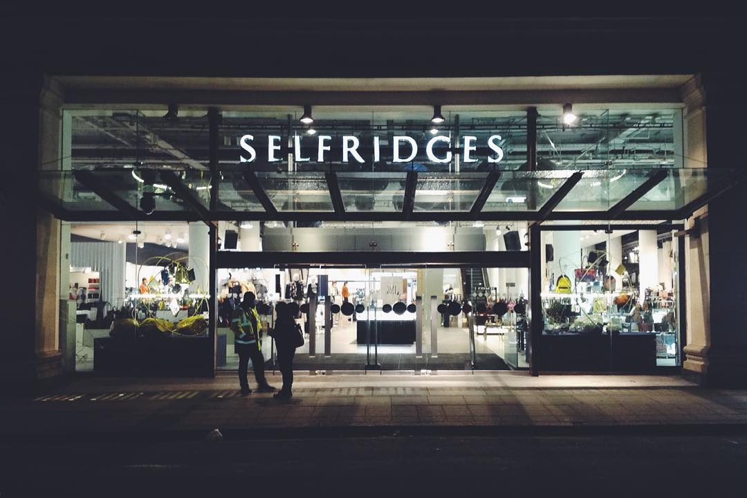 selfridges food hall london