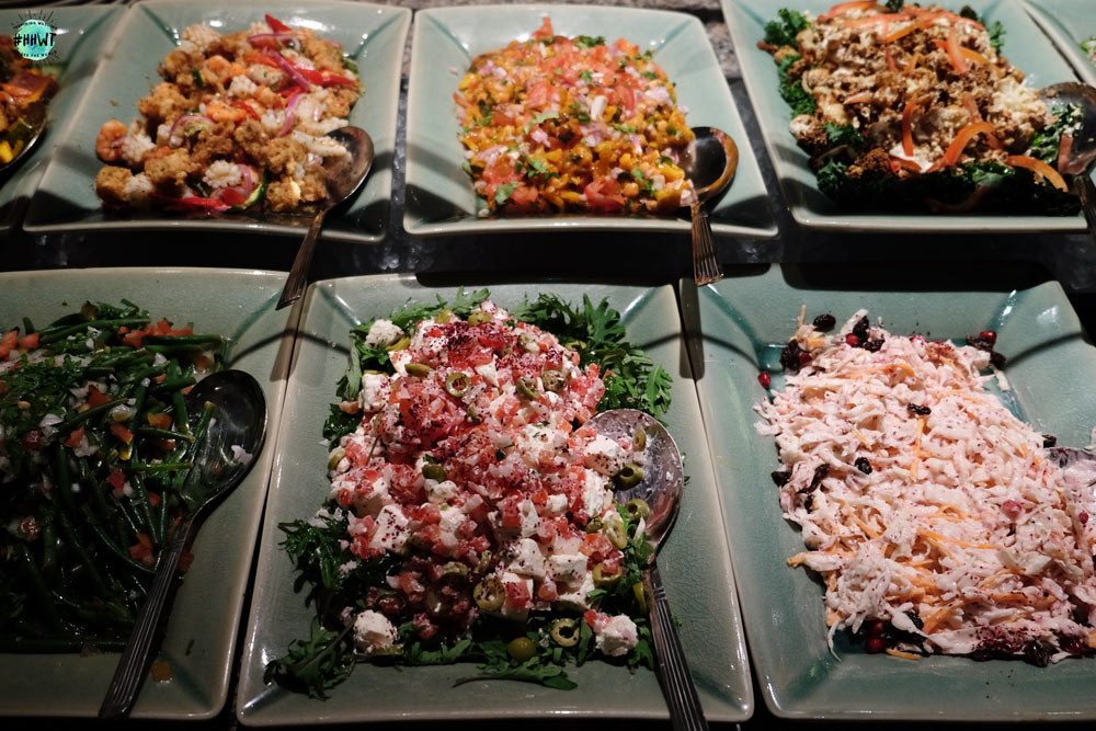 Middle eastern salads