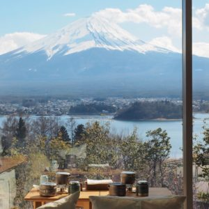 With such a magnificent view of Mt Fuji Hoshinoya ishellip