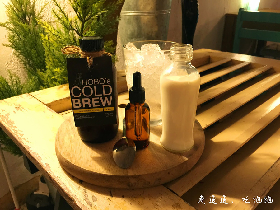 12 - Cold brew from Hobo Ganleeco for some caffeine kick
