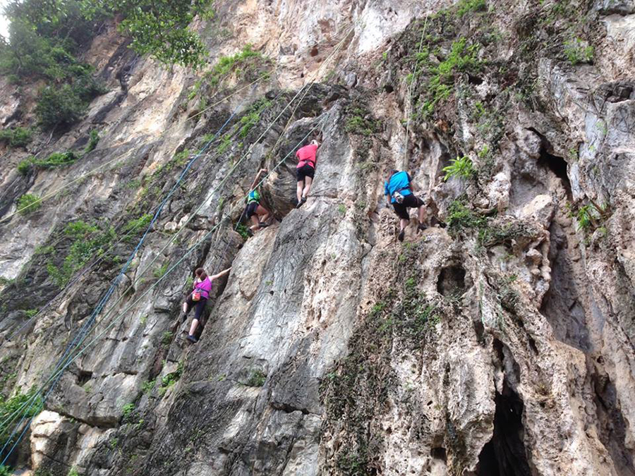 25 - Climb the natural limestone walls of Batu Caves