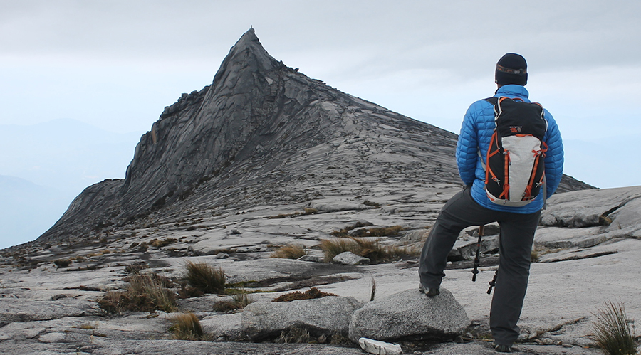 6 - Beat the hour-long hike to reach the peak of Mount Kinabalu