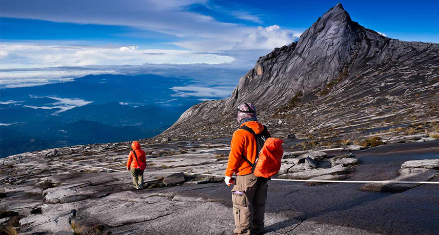 7 - The view that awaits the hikers of Mount Kinabalu