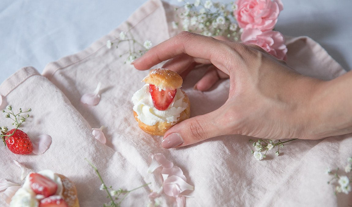 Dainty and lovely, they taste as good as they look!