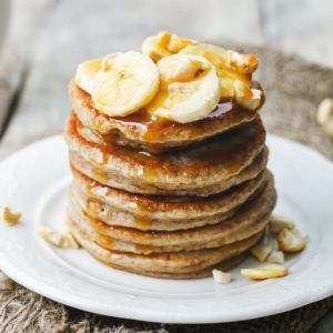 Two ingredient pancakes? Yes please Check out our bio linkhellip